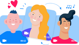 Create a get well video greeting.