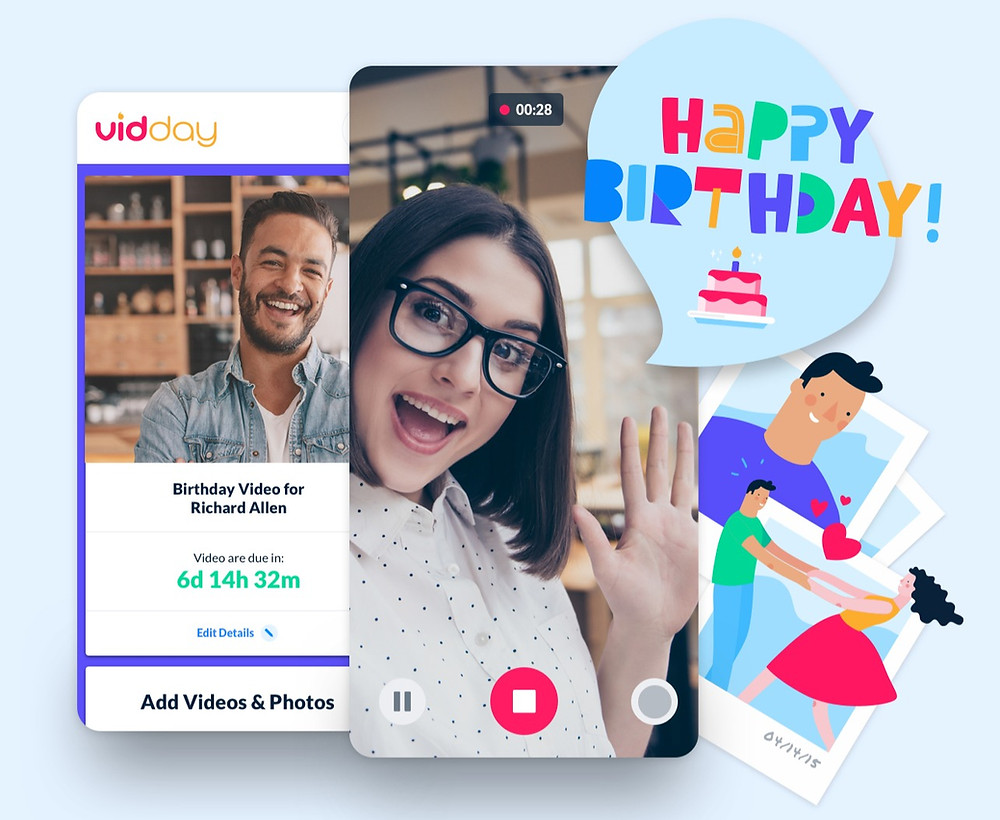 A look into the birthday video maker app