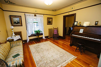 gabrielle roy's piano room