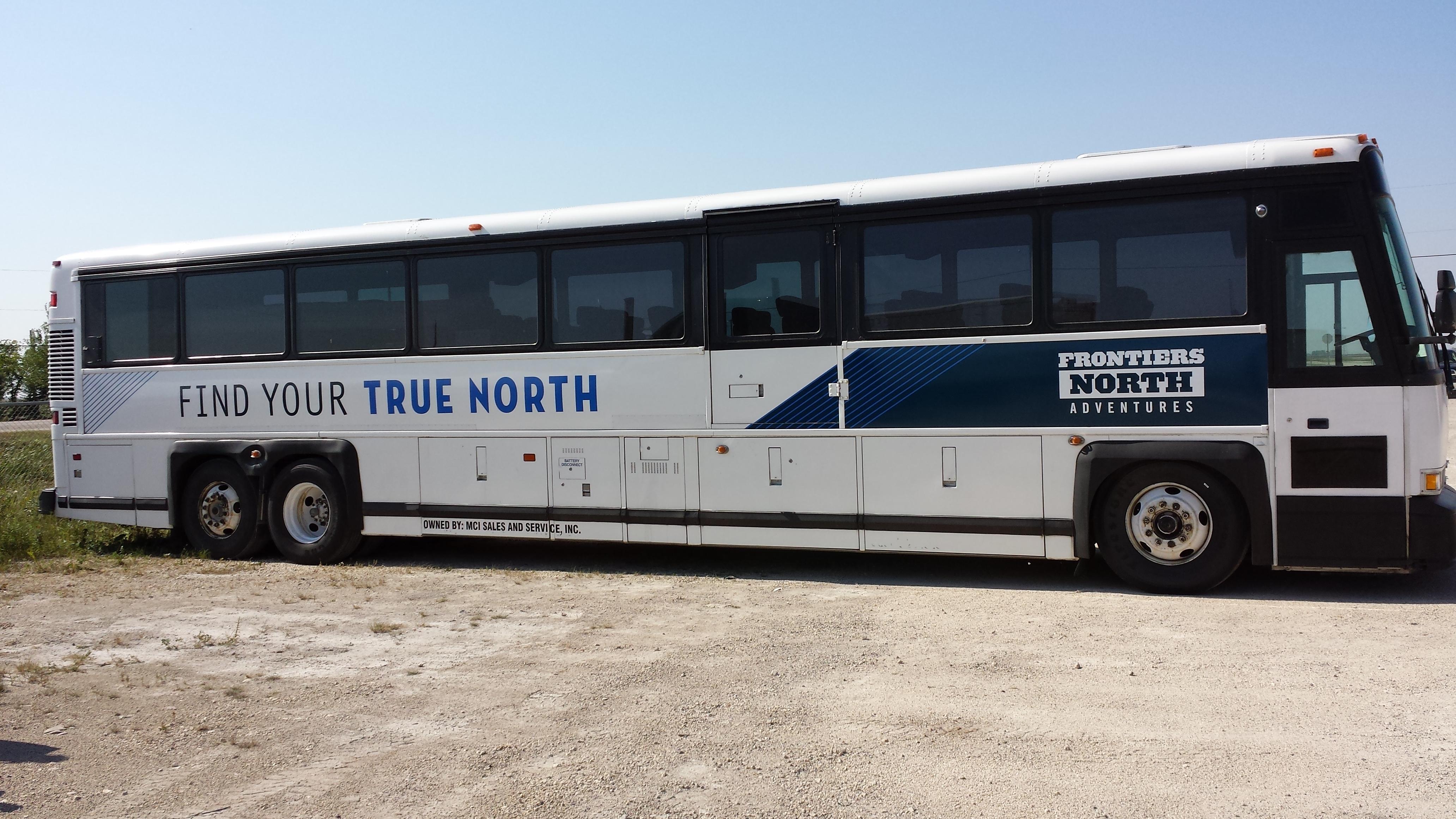 Custom coach graphics