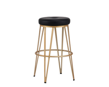 MATTHEWS SWIVEL COUNTER STOOL - CHAMPAGN
