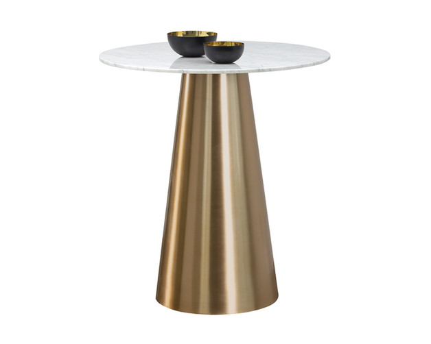 DAMON BAR TABLE - GOLD