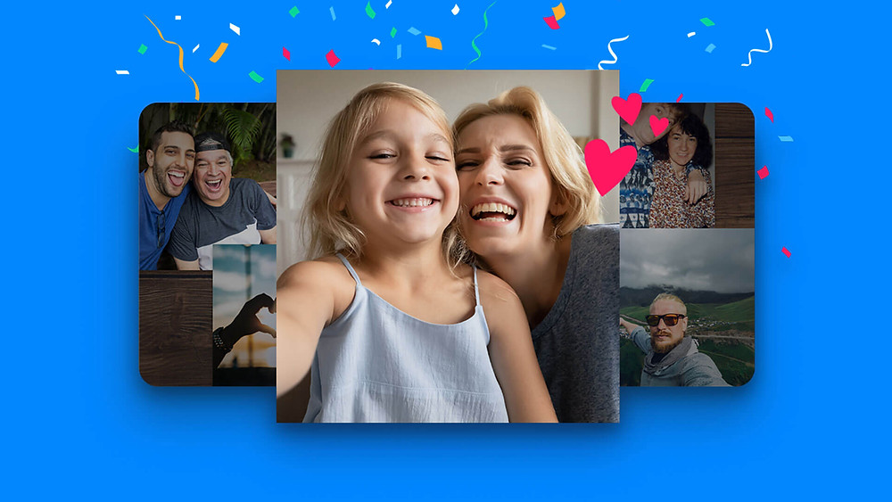 make a Video Gift with VidDay's collage themes