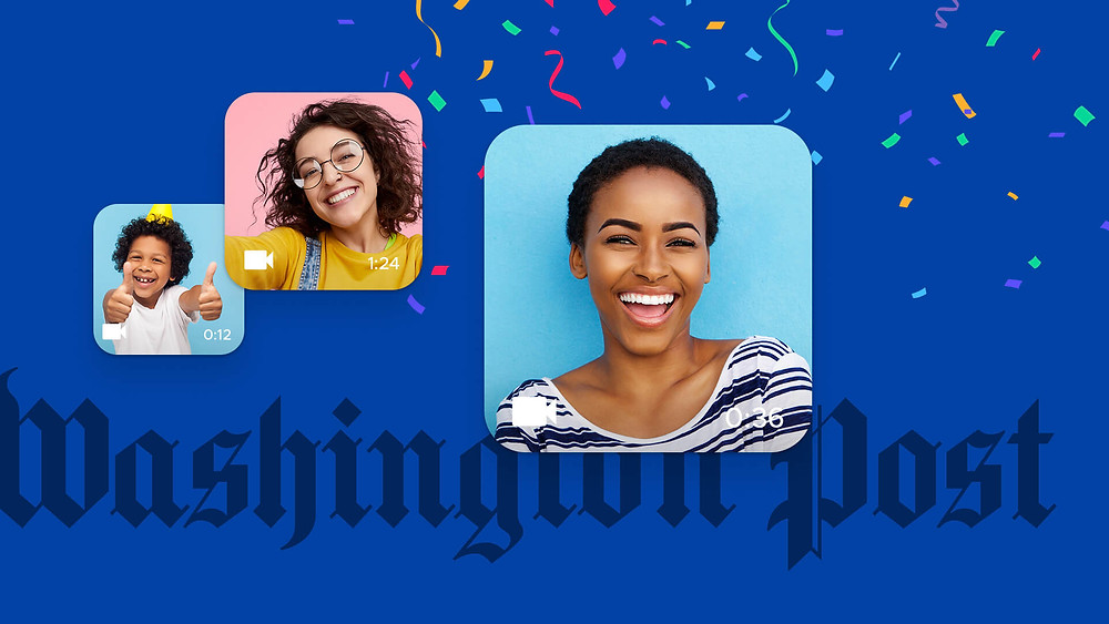People smiling with Washington Post
