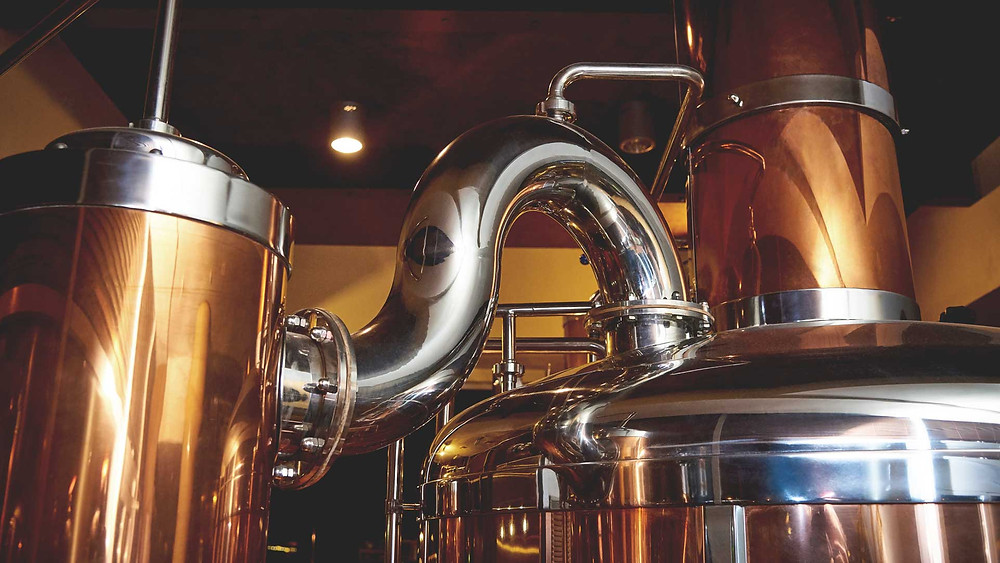 inside look of a brewery