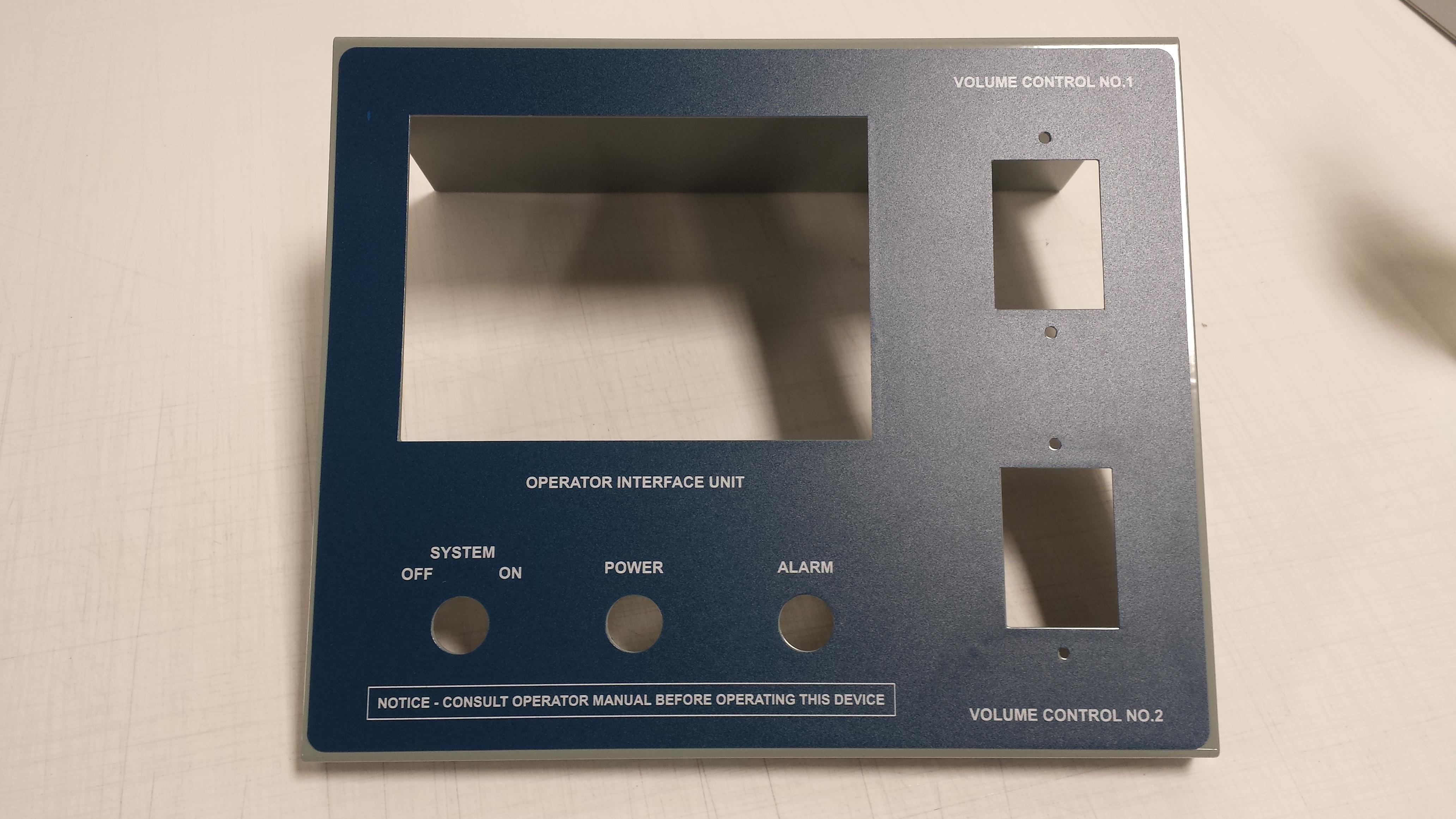 Lexan panel overlays