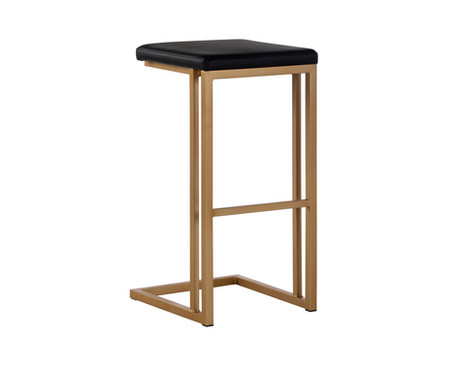 BOONE COUNTER STOOL - CHAMPAGNE GOLD
