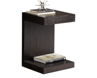 BACHELOR END TABLE - ESPRESSO