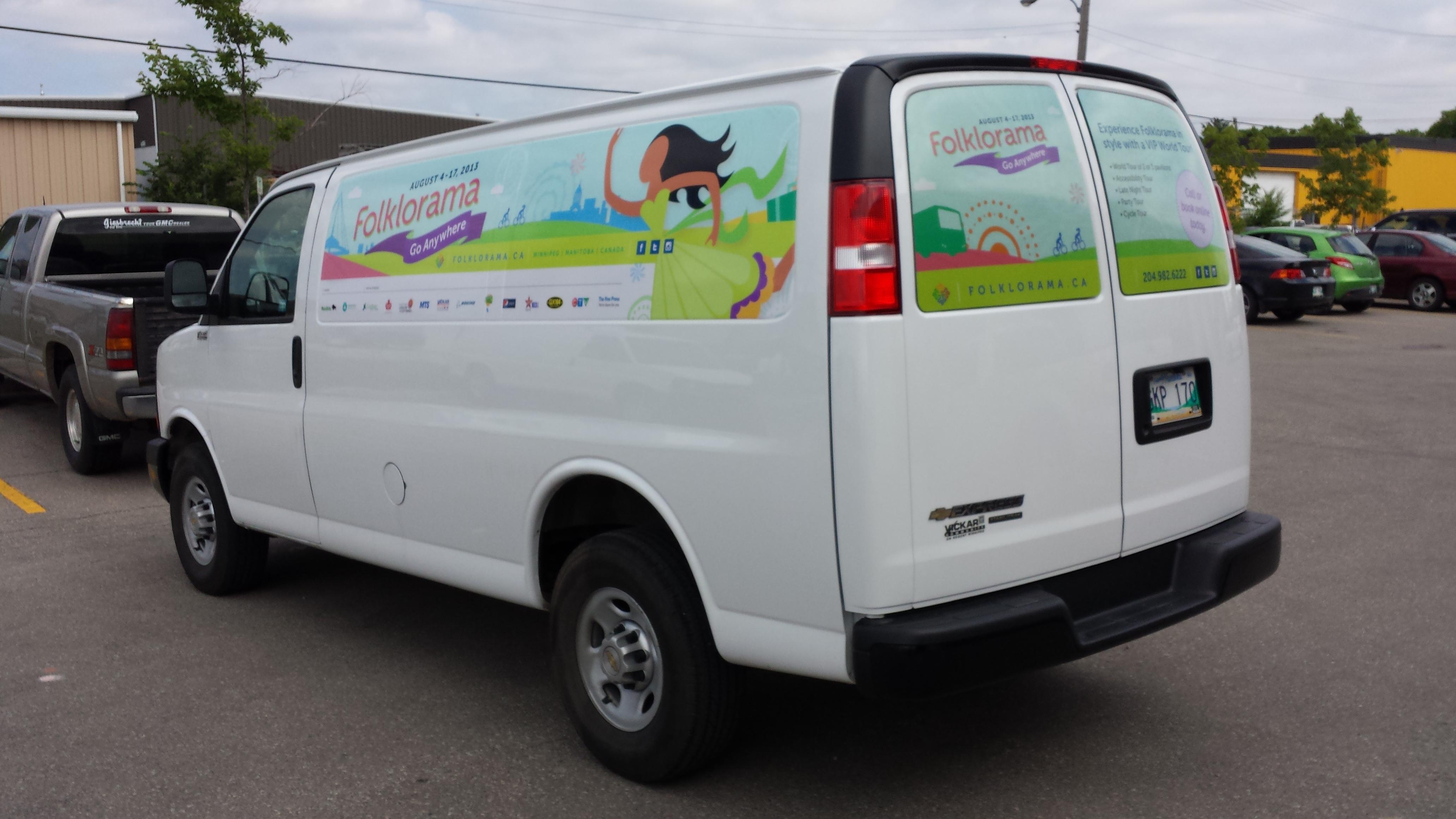 Temporary Van Graphics