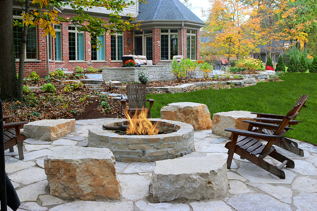 Firepits | StoneWall Landscapes