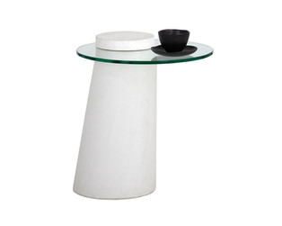 GRANGE END TABLE - ROUND
