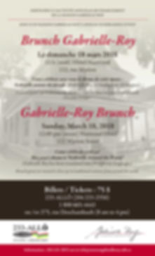 annual gabrielle roy brunch