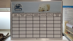 Custom Dry-Erase board