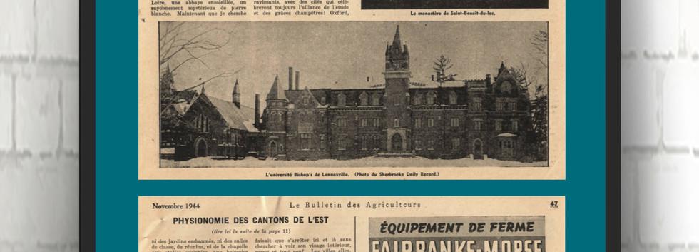 Physionomie des Cantons-de-l'Est NOV 194