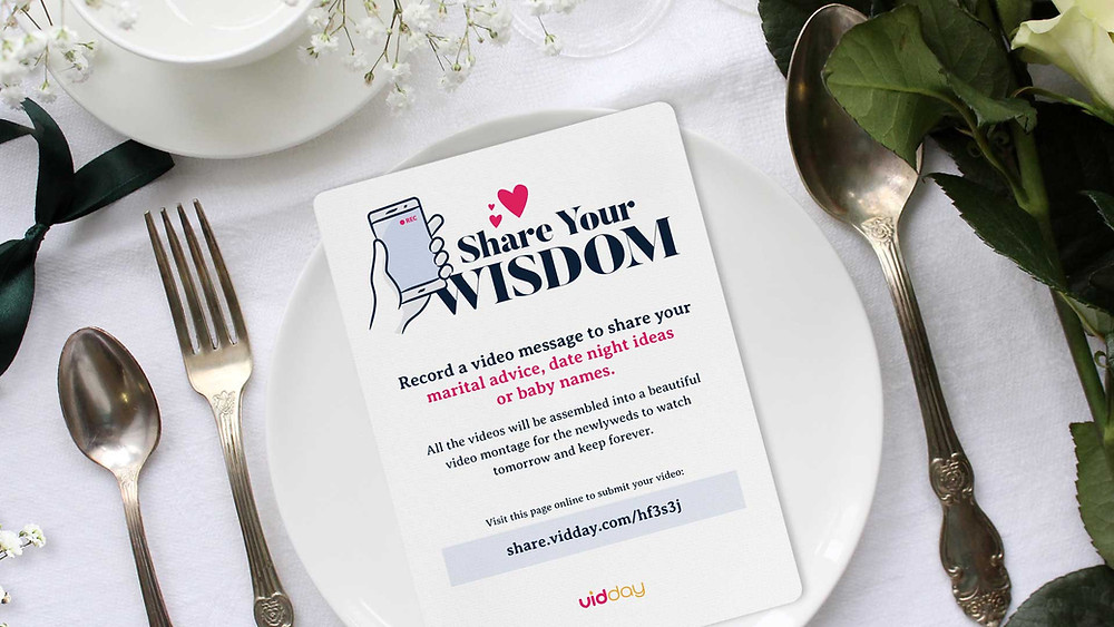 Share you wisdom game on a plate.