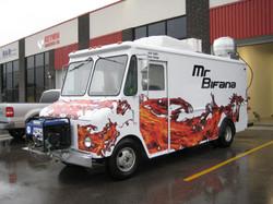 Food Truck partial wrap