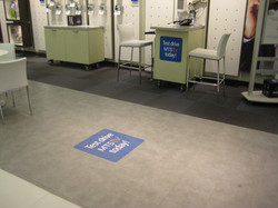 Floor & counter decals