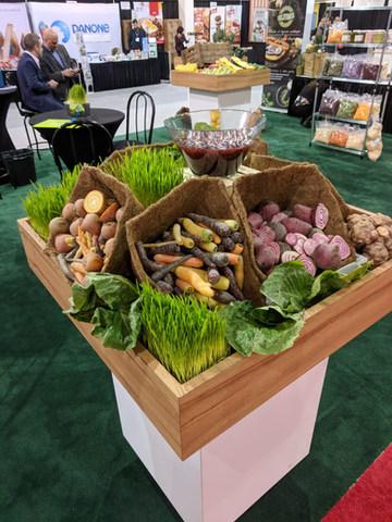 Beets Carrots Display