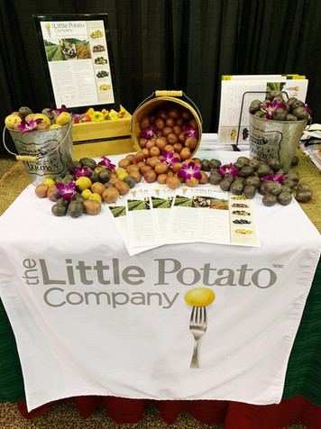 LIttle Potato Company Display
