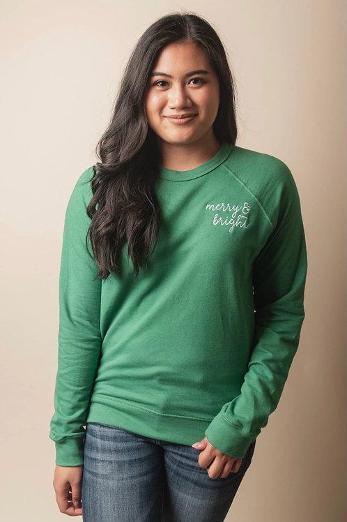 Merry & Bright Sweatshirt