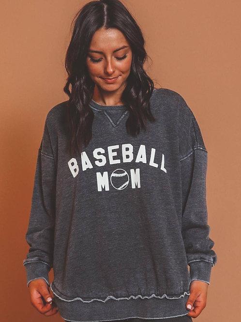 Baseball Mom Crewneck