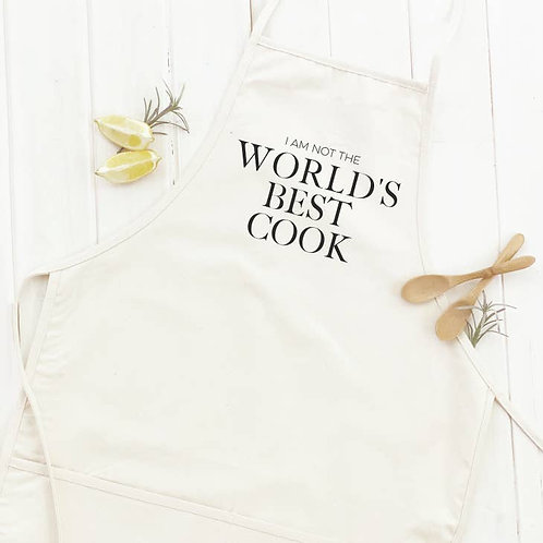 (not) World's Best Cook Apron