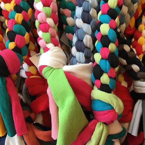 Upcycled T-Shirt Tug Rope