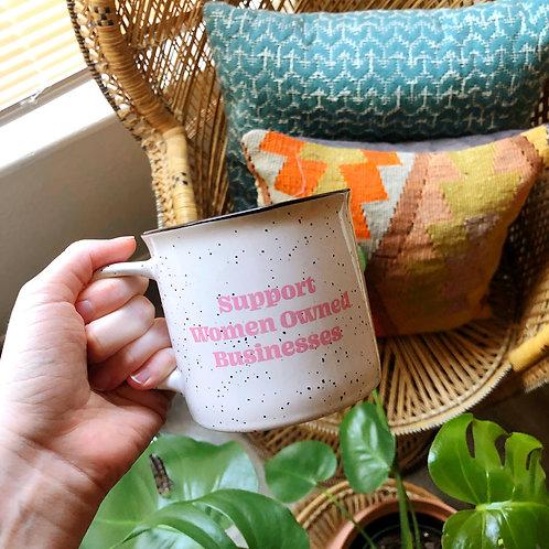 Support Women Biz Mug