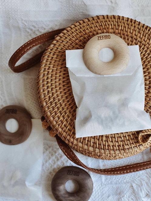 Bamboo Donut Bag Clips