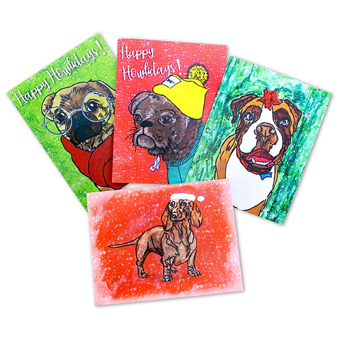 PawsAbilities Holiday Card Pack