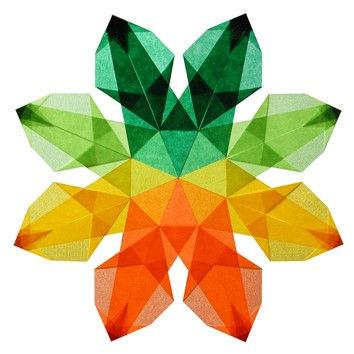 Csillag origami