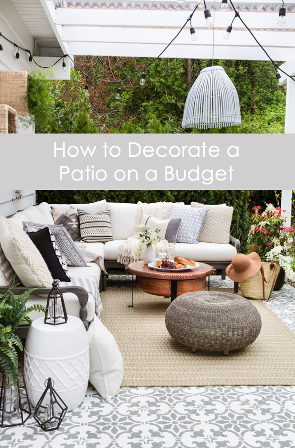 How To Decorate A Patio On Budget