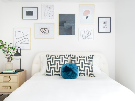 Gallery Wall Ideas:  10 spaces to inspire you for your next gallery wall project.