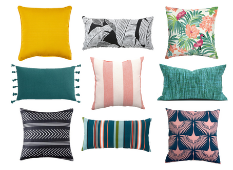 9 Outdoor Pillows Under $20 (plus a DIY styling bonus!)