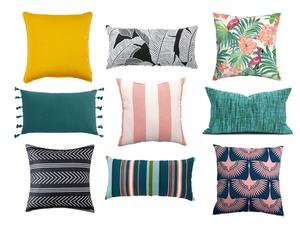 9 Outdoor Pillows Under $20