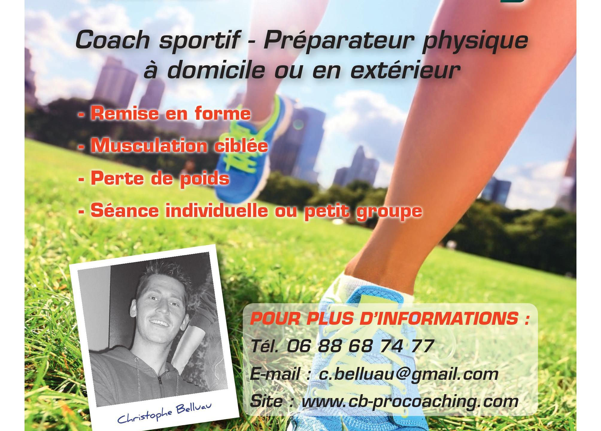 coach sportif sur le mans