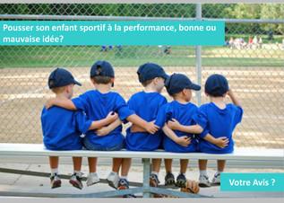 Enfant et Sport de Compétition.....