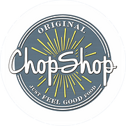 Orignal Chop Shop Color logo on white ci