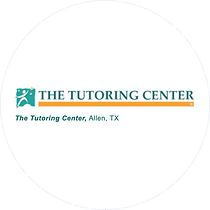 The tutoring center allen on white circl