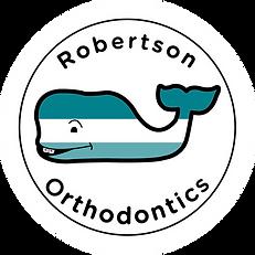 Robertson Orthodontics on white circle.png