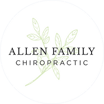 Allen Family Chiropractic on white circl