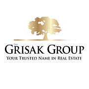 The Grisak Group logo on white circle.pn