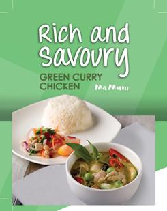 1 20170920 Green Curry Chicken - Rich an