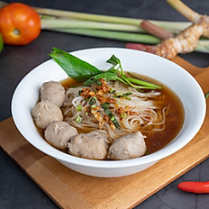 Beef Ball Boat Noodle Soup