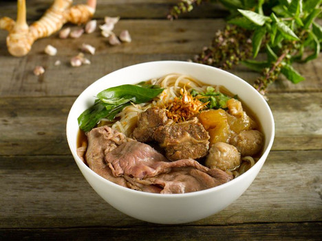 Beef Boat Noodle Deluxe