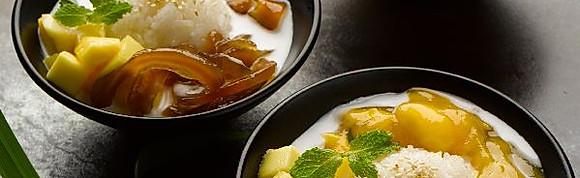 Sticky Rice with Mango & Coconut Cream