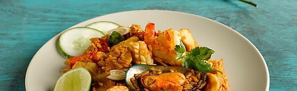 Tom Yum Seafood Caribbean