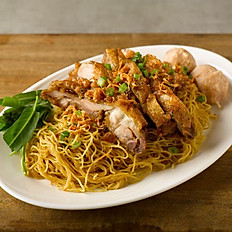 Thai Crispy Chicken Noodle