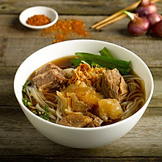 Beef Brisket Boat Noodle with Tendon