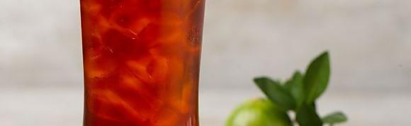 Iced Lime Thai Tea